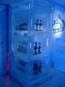 Eventos, Festas, Lançamentos com Exposição de Gelo