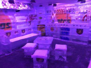 Bar de gelo em Goiânia, Goiás
