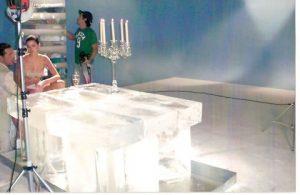 A Ice Park faz Estruturas em Gelo
