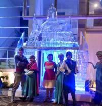 Castelo de Gelo da Frozen