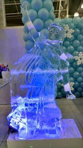 Castelo Feito de Gelo para Eventos