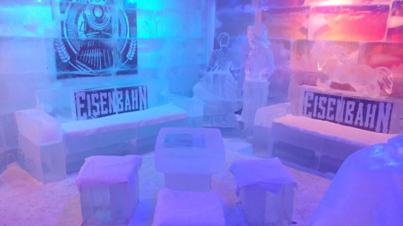 Evento de Exposição de Bar de Gelo em Porto Alegre – RS
