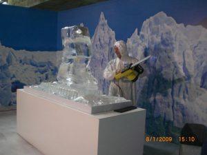 Exposição de Escultura de Gelo