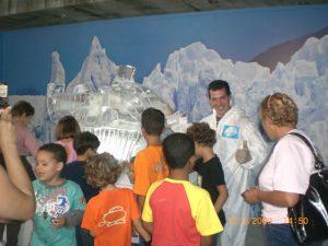 Exposição de Gelo em Eventos