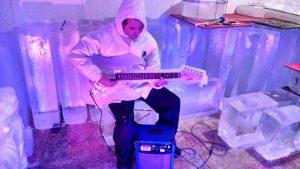 Instrumentos Feitos de Gelo